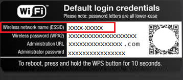 WiFi Router Default Login Information